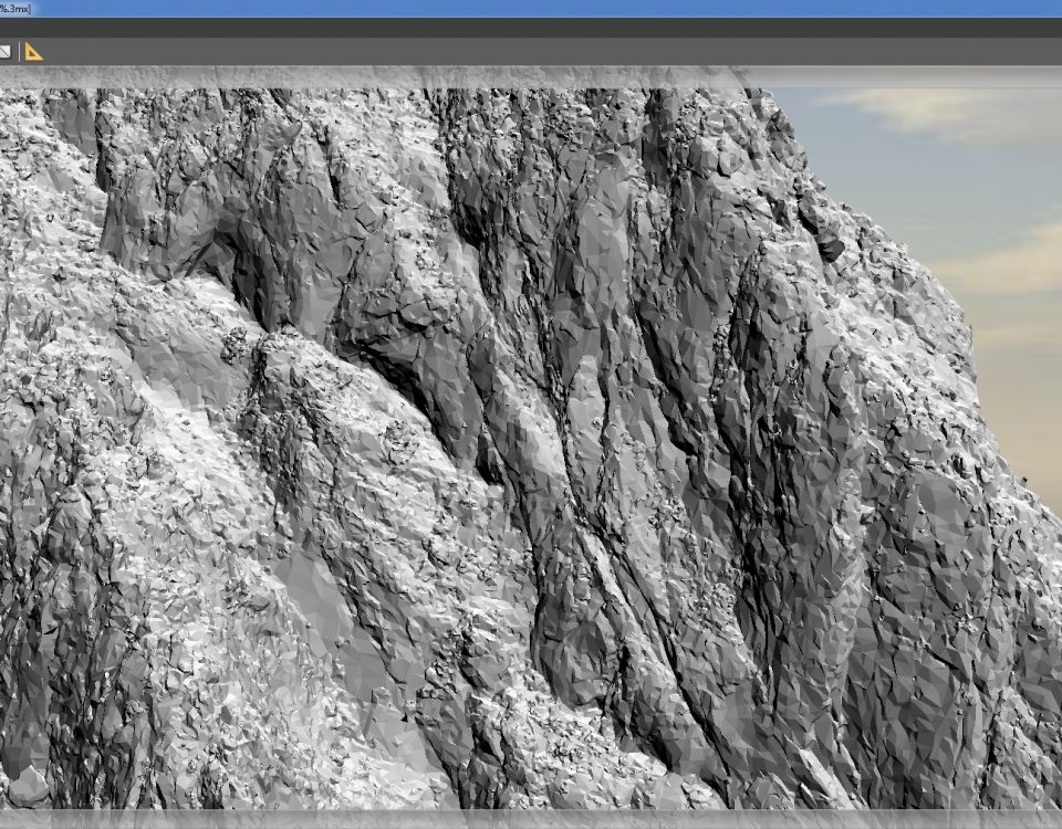 Restituzione 3D mesh  senza texture